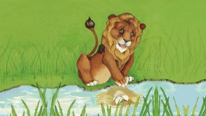 Il leone che aveva paura - Anonimo