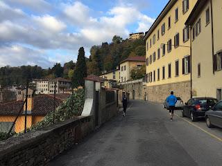The start of Via Sudorno.
