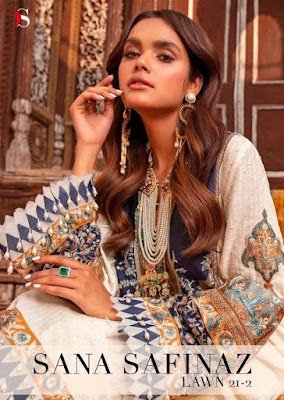 Deepsy Sana Safinaz Lawn 21 vol 2 pakistani Suits