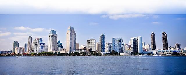 Lua de mel em San Diego