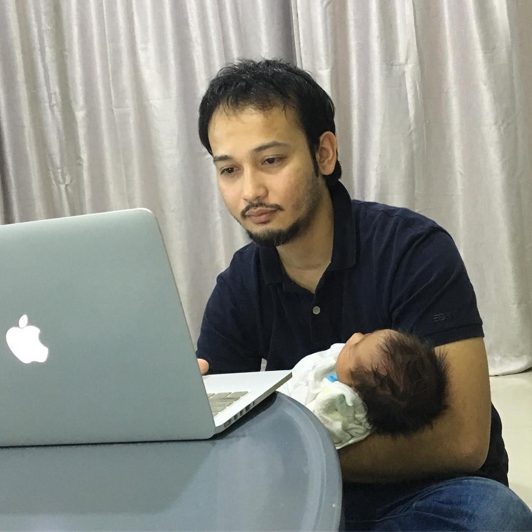 Aisy Mateen Nama Dipilih Anak Yana Samsudin (4 Gambar Baby)