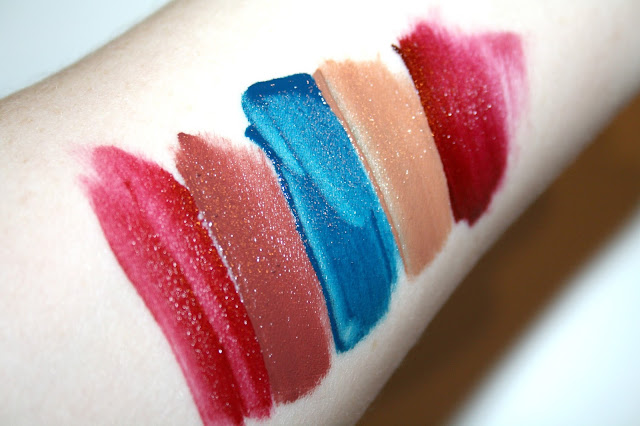 MUA Luxe Velvet Lip Lacquers