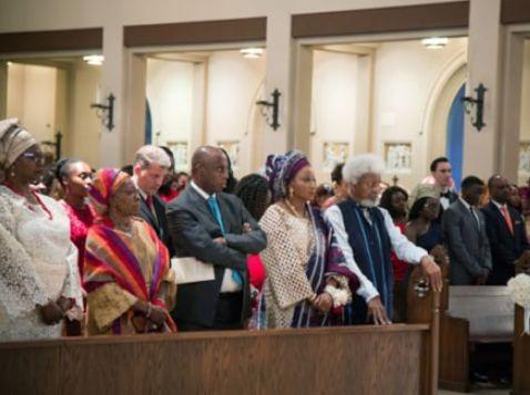 PHOTOS: Wole Soyinka's Son, Tunlewa, Weds In America