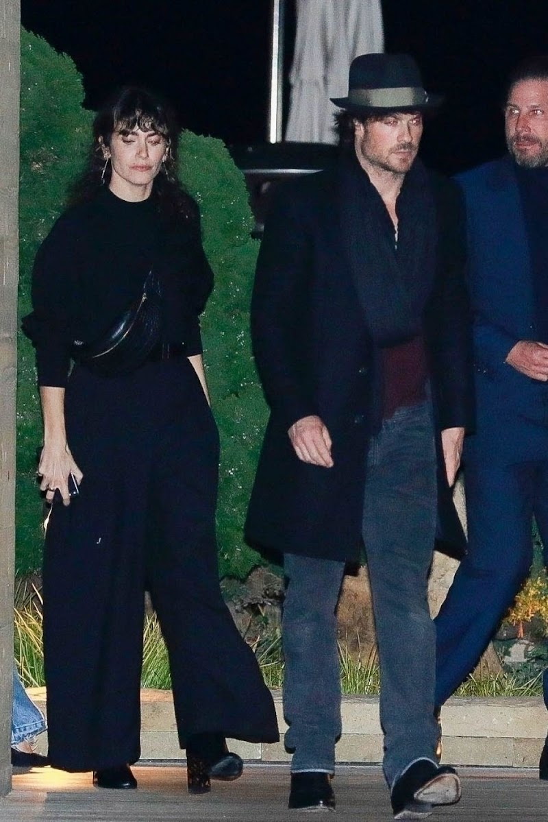 Nikki Reed and Ian Somerhalder Out for Dinner in Malibu 16 Jan-2020