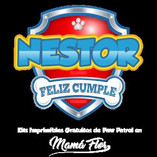 Logo de Paw Patrol: Nestor