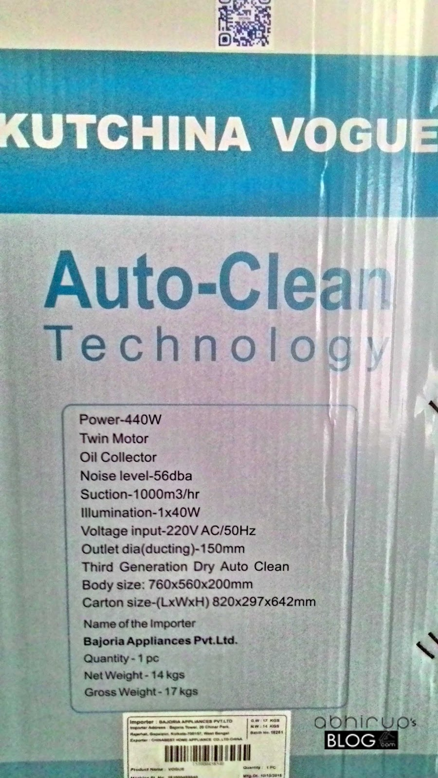 Kuchina Vogue - An Auto Clean Chimney Review - Let\'sGoForIt