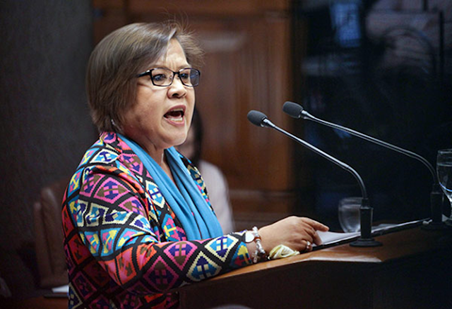 """It would take two magazines of an Uzi pistol to take me down"" –De Lima"