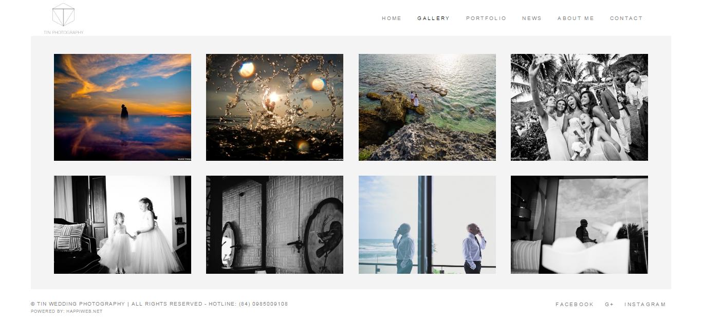 Thiết kế website studio