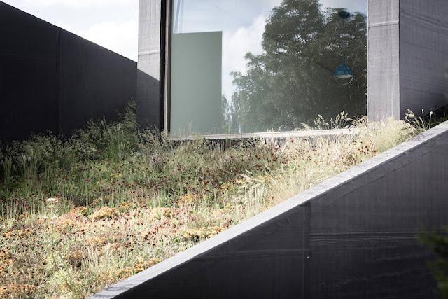 Geometric Half-Subterranean House in Belgium