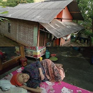 Belum Dapat Bantuan, 3 Lansia di Palabuhanratu Tinggal Satu Atap di Rutilahu