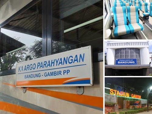 Jadwal KA Argo Parahyangan terbaru  2019