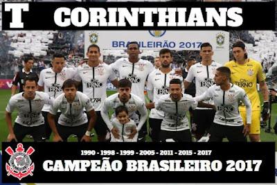 """Bom Dia """"Corinthians Hepta Campeão Brasileiro de 2017"""""""