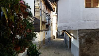 calle del barrio judio de hervas