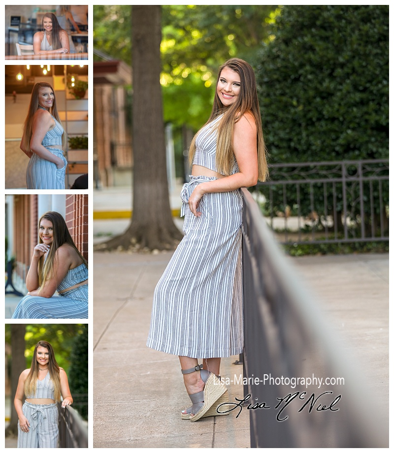 pretty teen girl portraits outside