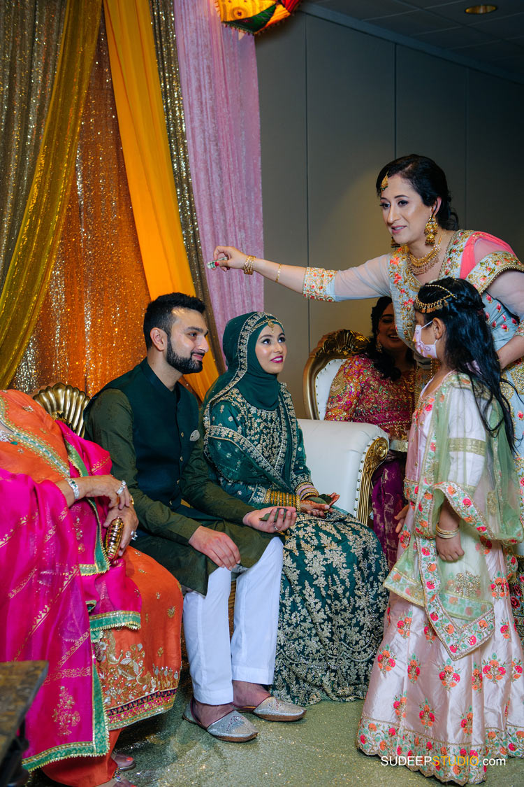 Hall Decoration for Pakistani Wedding Shaadi Mehendi Photography by SudeepStudio.com Ann Arbor South Asian Muslim Wedding Photographer