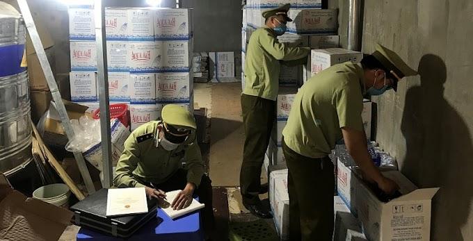 """Phạt hơn 40 triệu đồng vì sản xuất nước suối AQUAFINA """"nhái"""""""