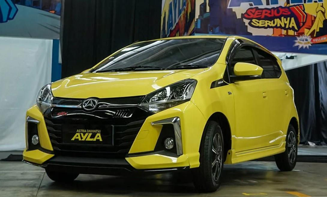 Spesifikasi dan Daftar Harga Mobil Daihatsu Ayla Terbaru