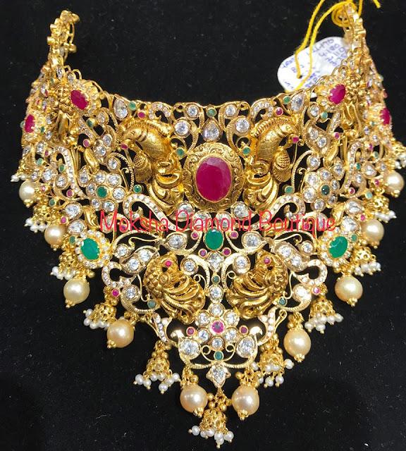 Bridal Choker by Moksha Diamonds