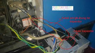 ganti kapasitor indoor ac lg - gambar 8