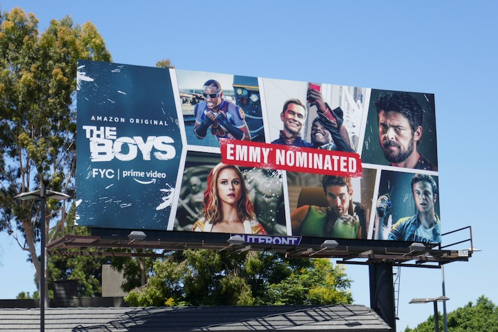 Boys 2020 Emmy nominated billboard