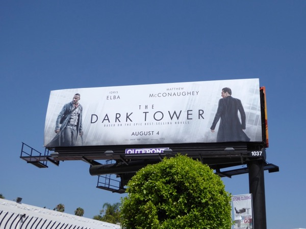 Dark Tower film billboard