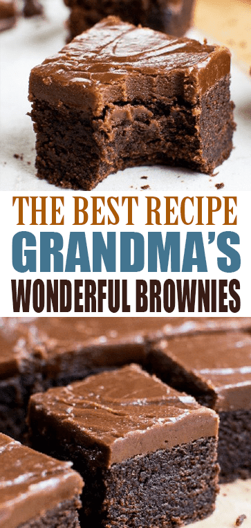 GRANDMA'S #BROWNIES