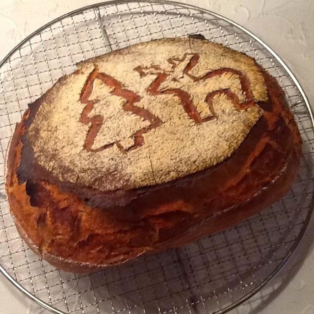 Brot mit Tanne und Rudolph