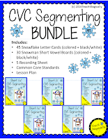 segmenting  and successive blending snowmen bundle from teachmagically