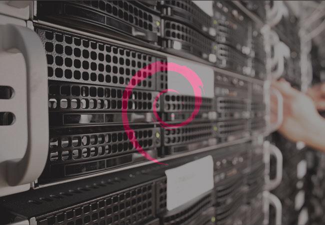 ilustrasi web server debian