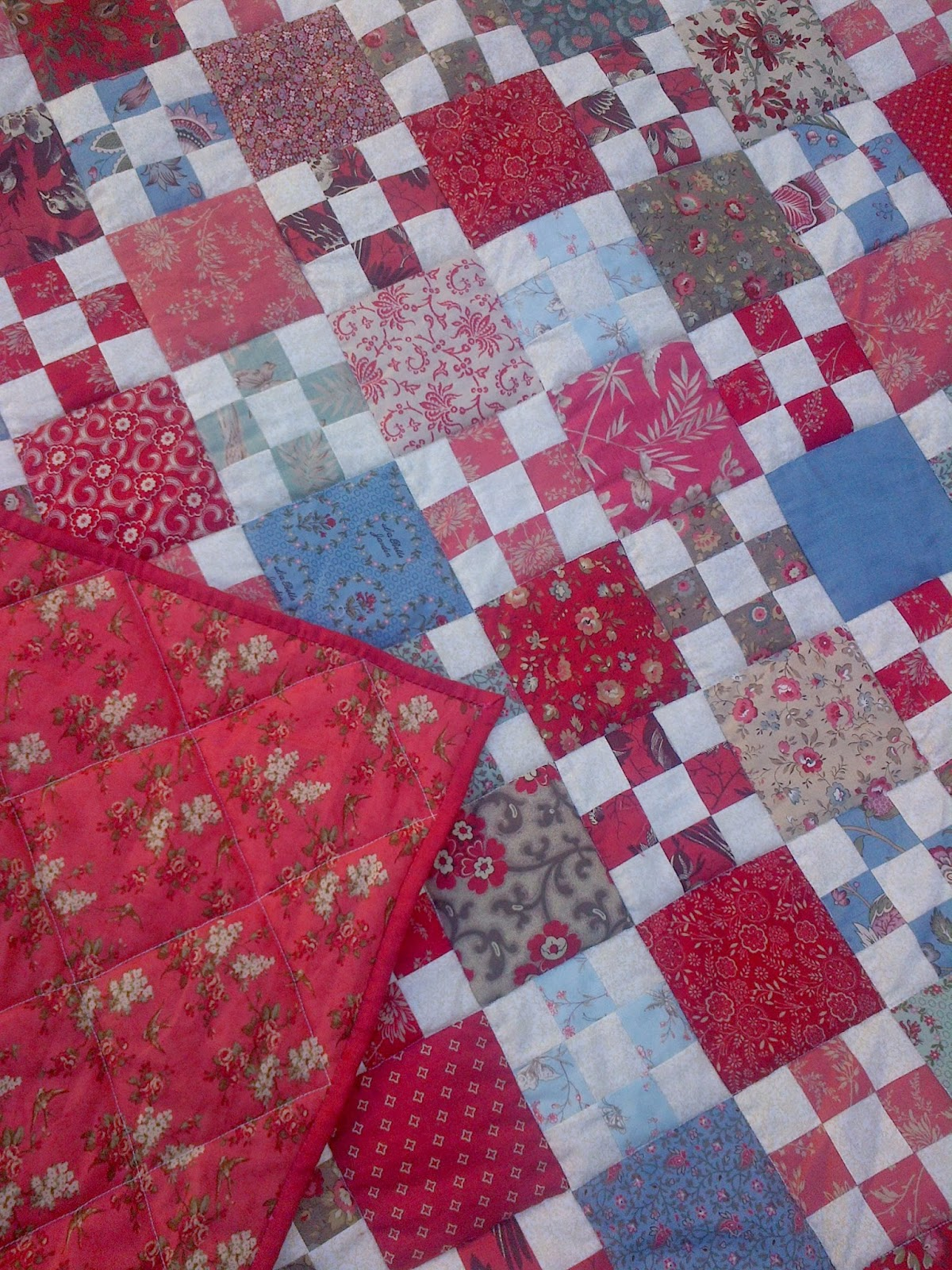 Cape Pincushion French Nine Patch Finished And 500 Quilt
