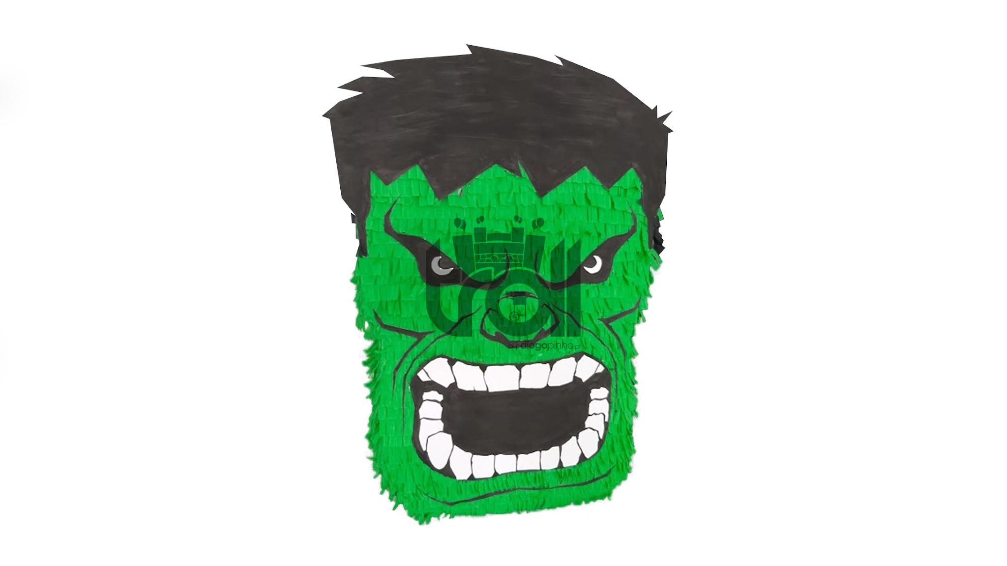 Pinhata Hulk | Troll - Soluções para eventos