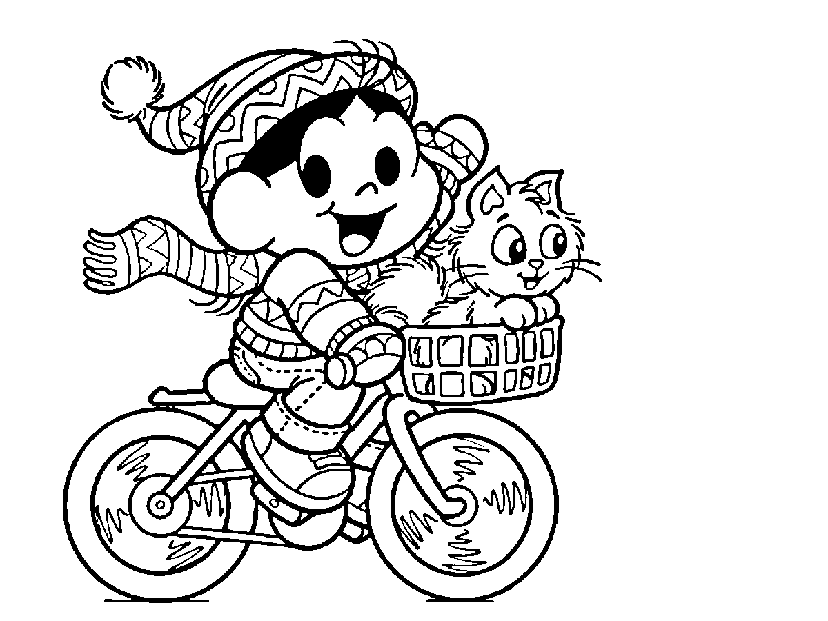 Para imprimir e colorir ~ Turma da Mônica
