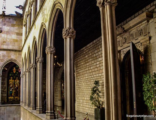 Galeria superior da Casa de la Ciutat, Barcelona