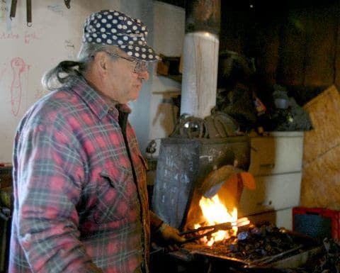 Interview with Turley Forge Blacksmithing School's Frank Turley