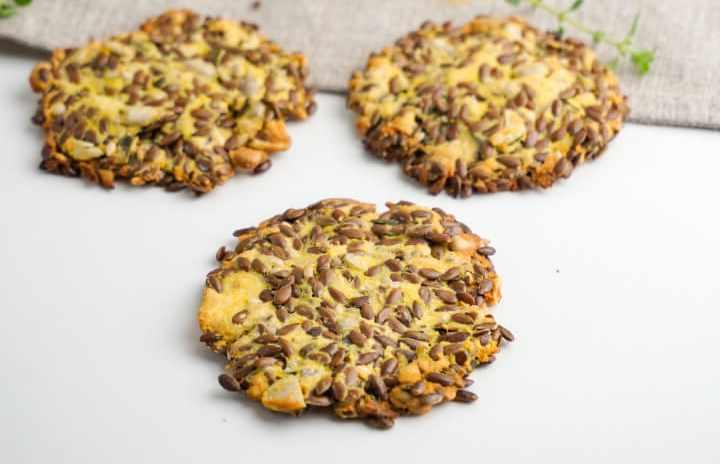 FlaxSeed Crackers Keto and Vegan