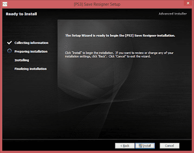 Download dan Cara Install PS3 Save Resigner