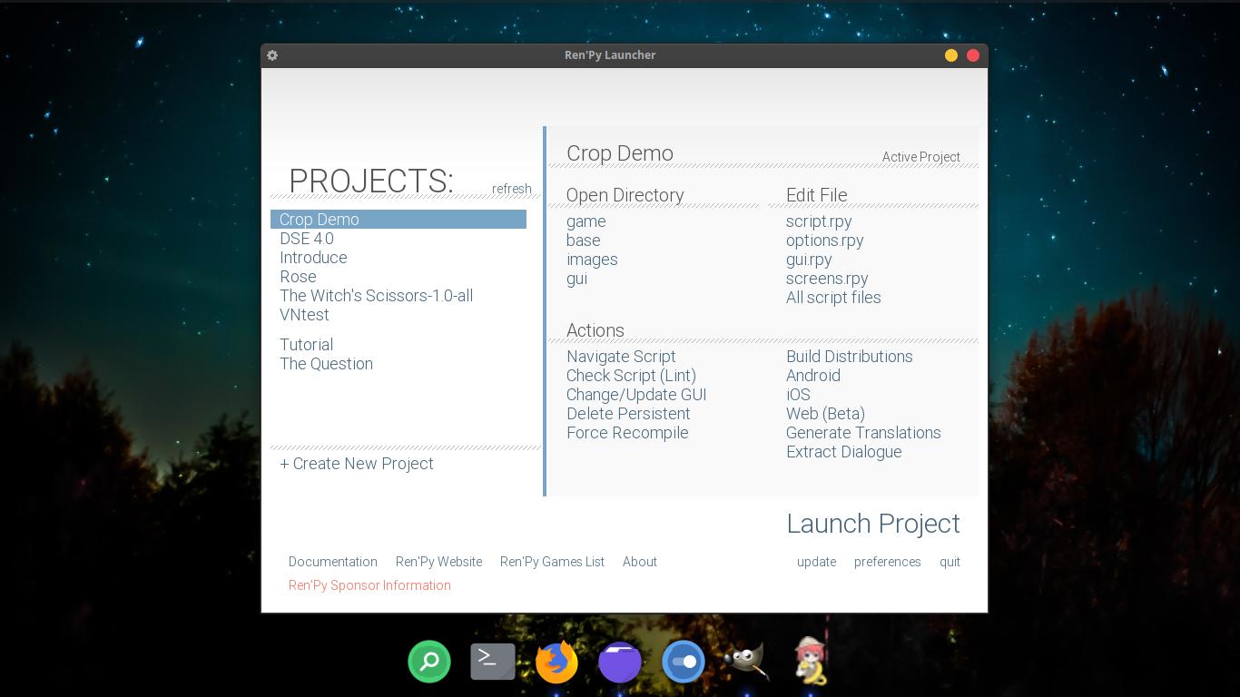 How to run Ren'Py on Ubuntu? - Fosslicious