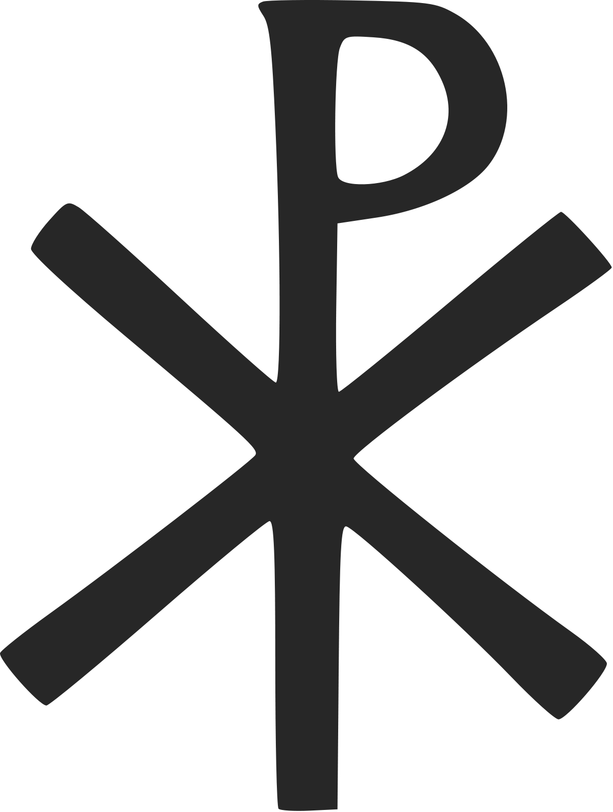 Chi Rho symbol wallpaper