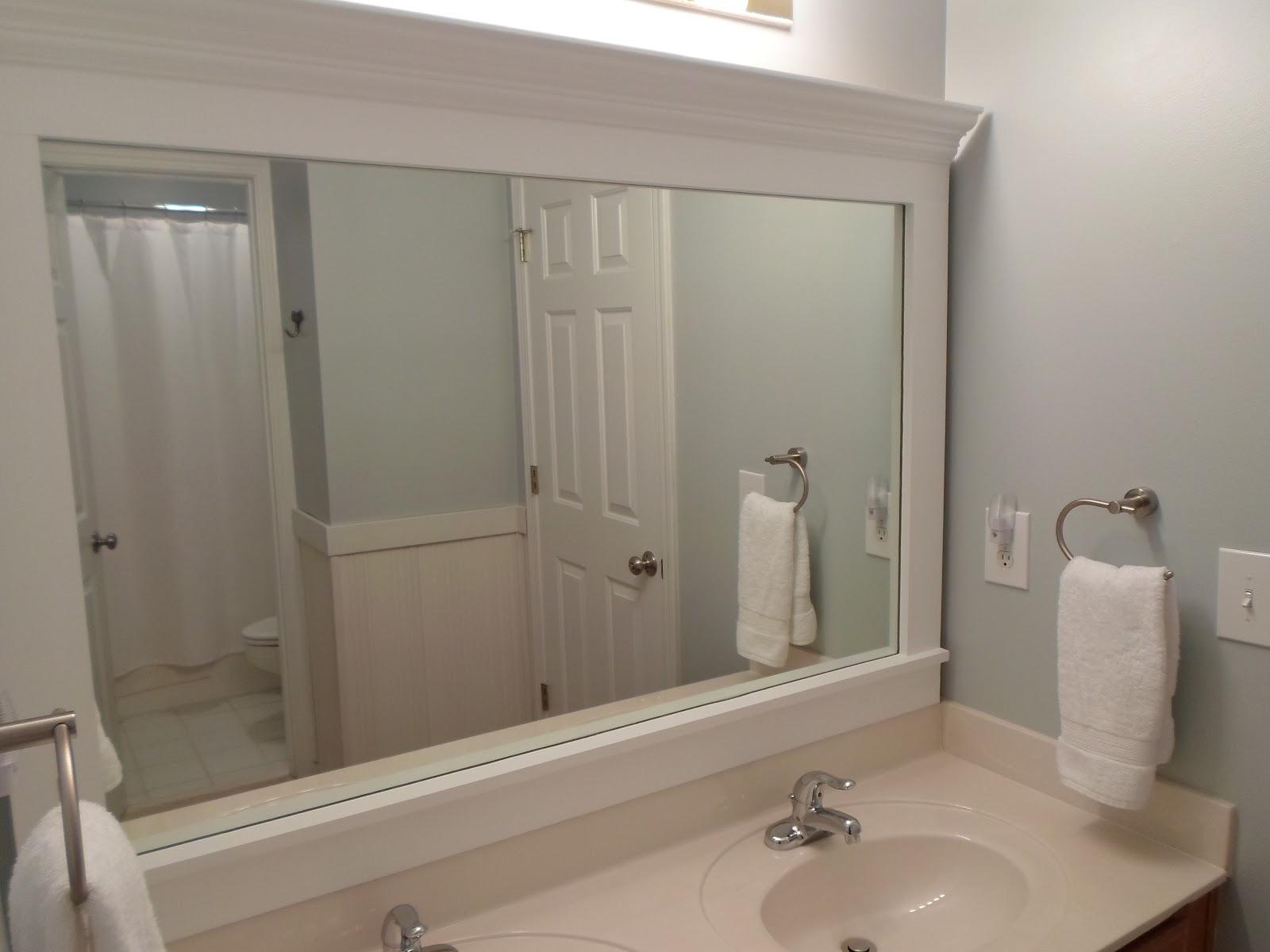 cheriesparetime: Frame a Mirror with Clips