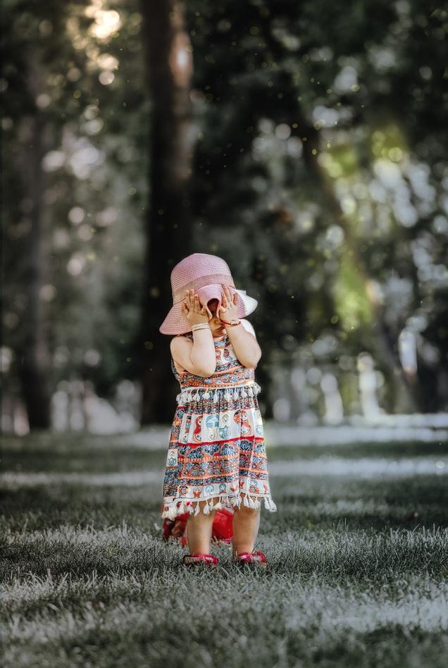 Vestido de bebé personalizado con pasamanería