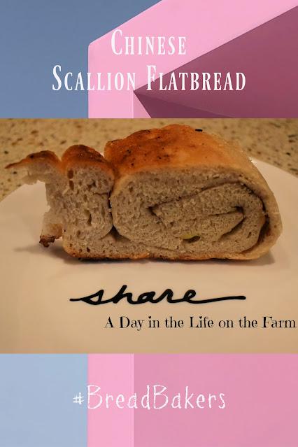 Scallion Flatbread pin