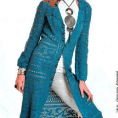 Inigualable chaqueta a crochet
