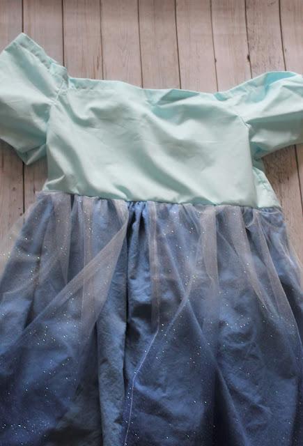 how to make a princess elsa dress