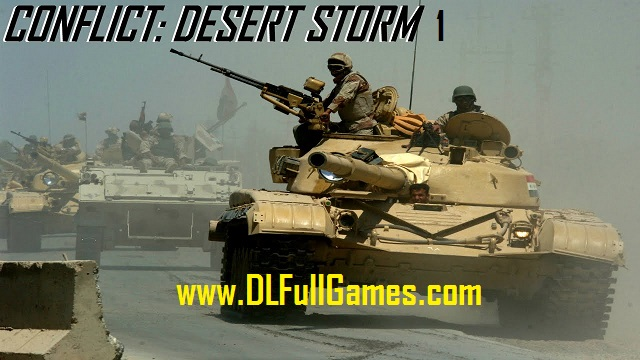 Conflict Desert Storm 1 Game Free Download Full Version For Pc