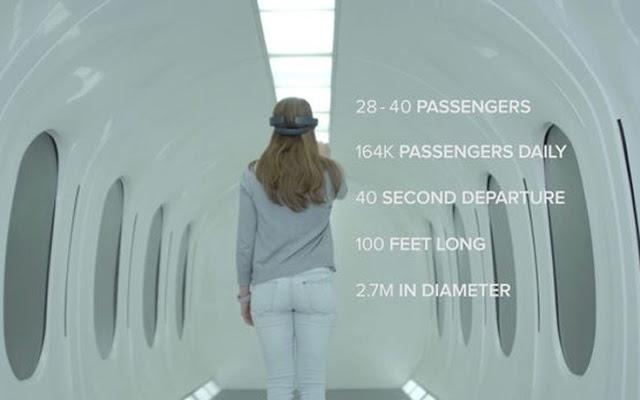 Εκπληκτικό: Το σούπερ τρένο που θα ταξιδεύει με 800 χιλιομέτρα την ώρα! (ΦΩΤΟ&ΒΙΝΤΕΟ)