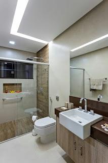 ديكورات حمامات مودن2017 صور وافكار تناسب حمامك الصغير