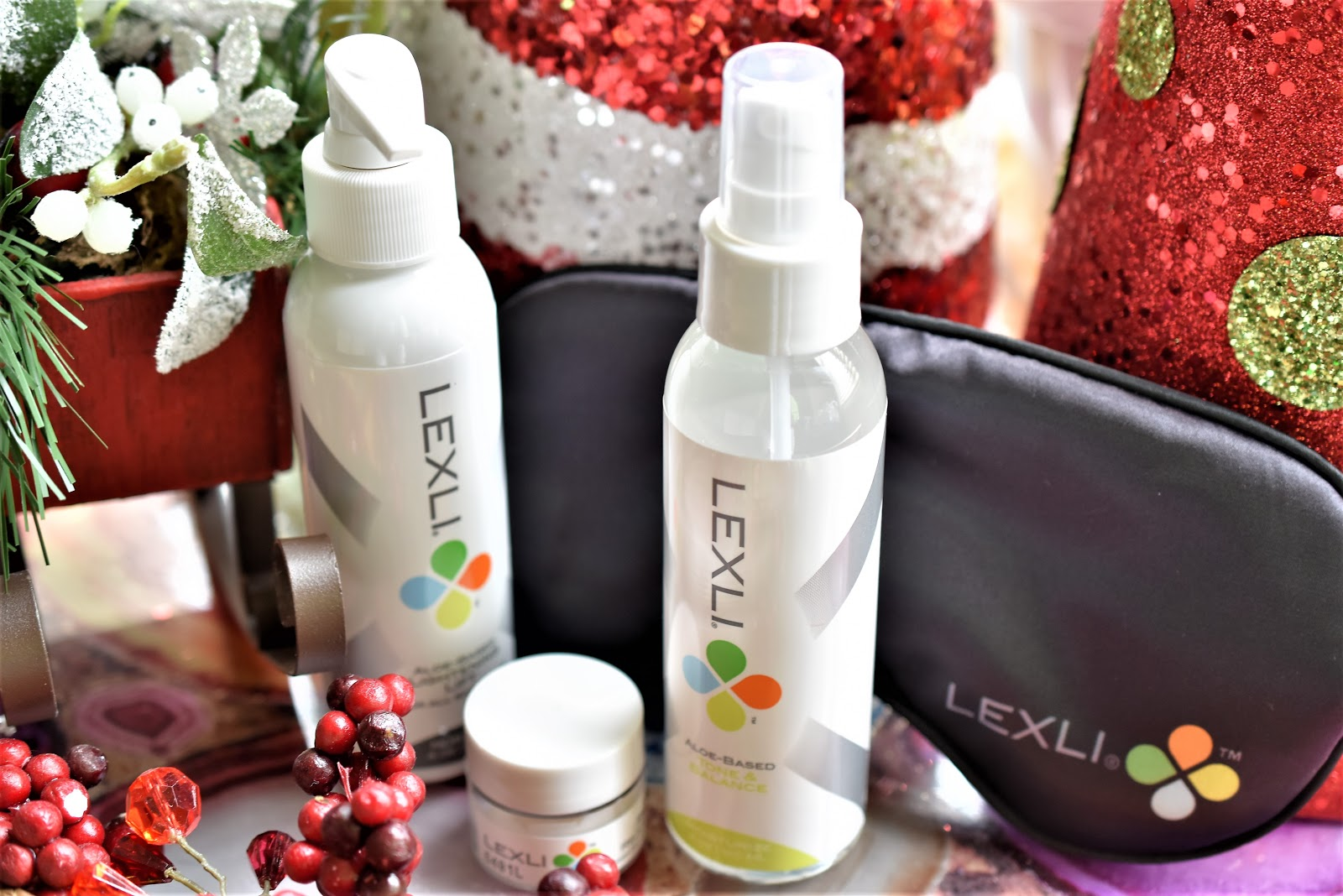 Giveaway: Keep Your Skin Looking Flawless and Rejuvenated with Lexli's Holiday Rescue Kit