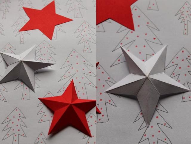 Moja Przystań Ozdoby świąteczne Z Papieru