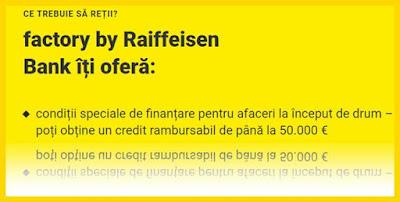 factory raiffeisen banca credite imm strat-up opinii forumuri bancare