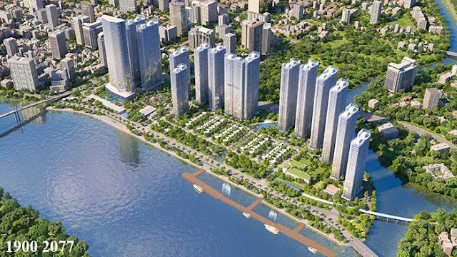 Hình ảnh mới về dự án cảng ba son